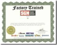 SGM Factory Trained